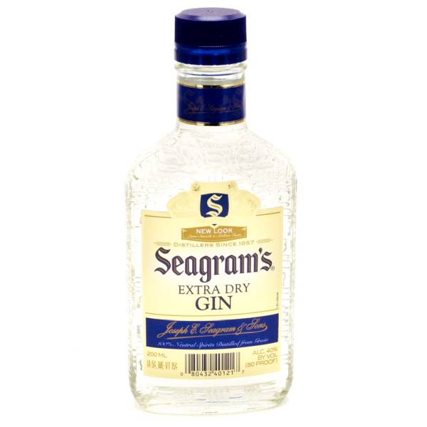 Seagram S Extra Dry Gin 200ml Beer Wine And Liquor