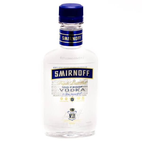 Smirnoff - 100 Proof Vodka - 200ml