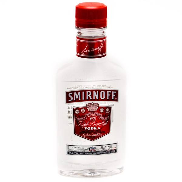 Smirnoff - Triple Distilled Vodka - 200ml
