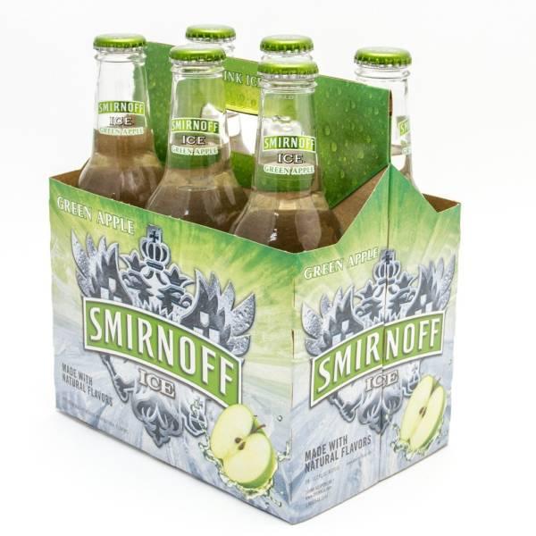 Smirnoff Ice - Green Apple - 11.2oz Bottle - 6 Pack