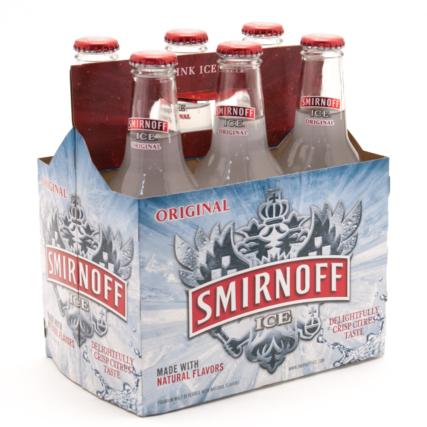 Smirnoff Ice - Original - 12oz Bottle - 6 Pack