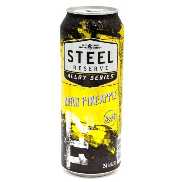 Steel Reserve - Hard Pineapple Malt Beverage - 24oz Can