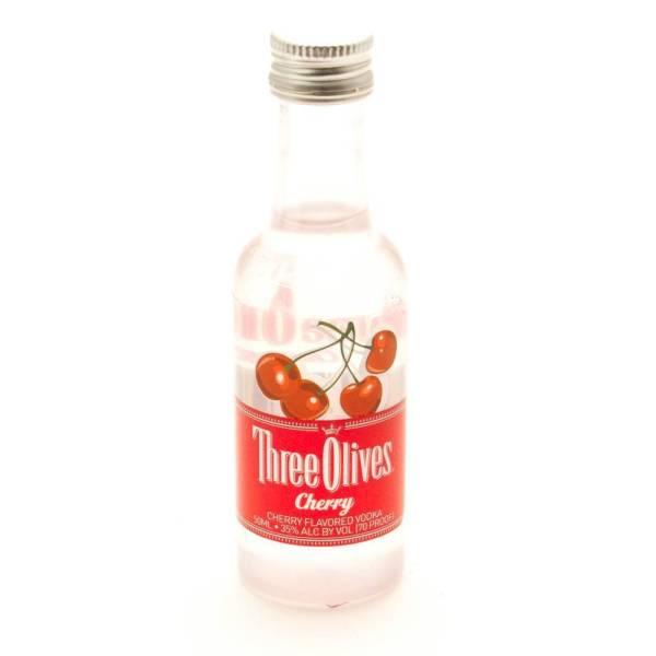 Three Olives - Cherry Vodka 50ml