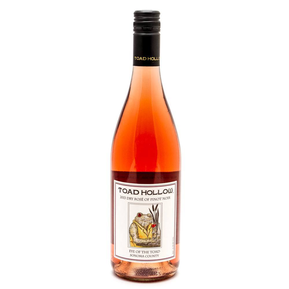 Toad Hallow - Dry Rose of Pinot Noir- 750ml