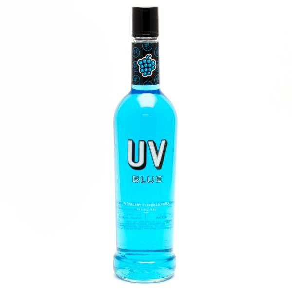 UV - Blue Raspberry Vodka - 750ml