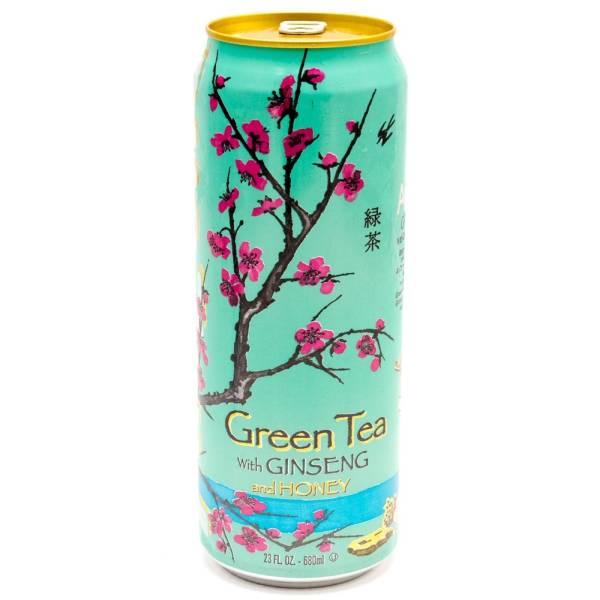 Arizona - Green Tea - w/Ginseng and Honey - 23 fl oz