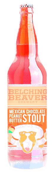 Belching Beaver Mexican Chocolate Peanutbutter Milk Stout - 22oz