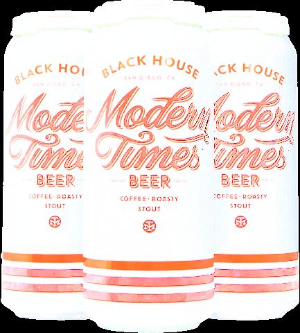 Modern Times Blackhouse Stout - 4pk