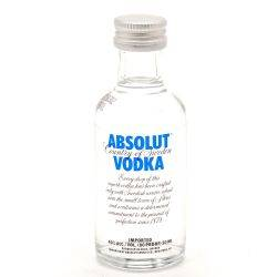 Absolut - Vodka - Blue 80 Proof -...