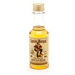 Captain Morgan - Spiced Rum - Mini 50ml