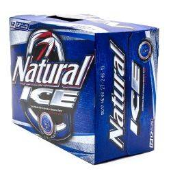 Natural Ice - Beer - 15 Pack - 12oz Cans