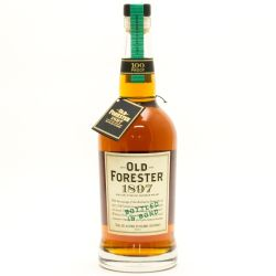 Old Forester - 1897 - Bottled In Bond...