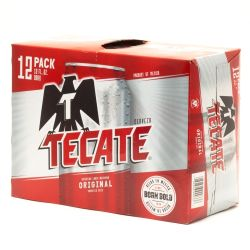 Tecate - Beer - 12oz Can - 12 Pack