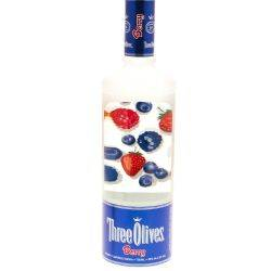 Three Olives -  Berry Vodka - 750ml