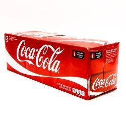 Coke - 12oz Cans - 12 Pack