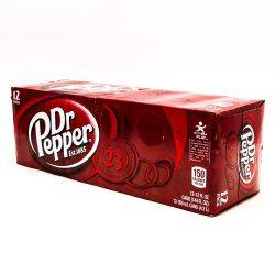 Dr. Pepper - 12oz Cans - 12 Pack