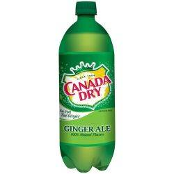 Canada Dry Ginger Ale - 1ltr