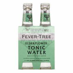 Fever Tree Elderflower Tonic - 4pk