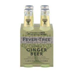 Fever Tree Ginger Beer - 4pk