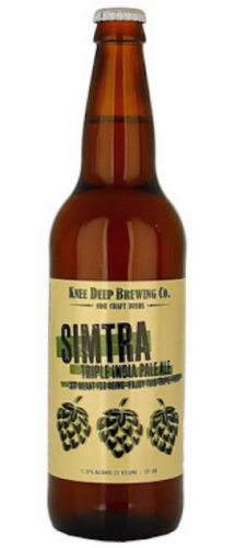 Knee Deep Simtra Triple IPA - 22oz