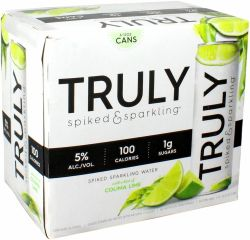 Truly Spiked Lime - 6pk
