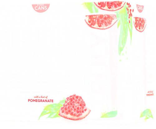 Truly Spiked Pomegranite - 6pk