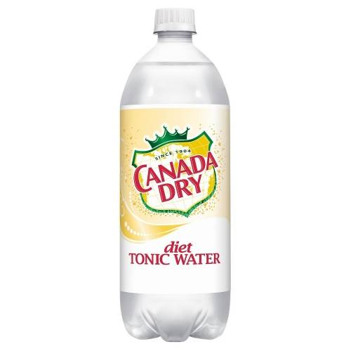 Diet Canada Dry Tonic Water, 1 L