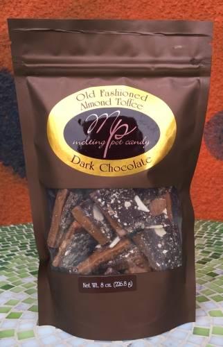 Melting Pot Candy, Oregon Hazelnut Toffee, Dark Chocolate, 8oz | Beer ...