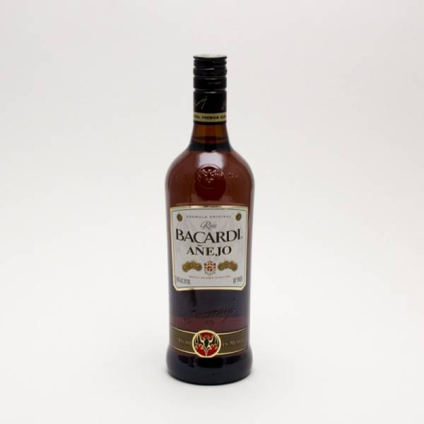 Bacardi Anejo Rum 750ml Beer Wine And Liquor