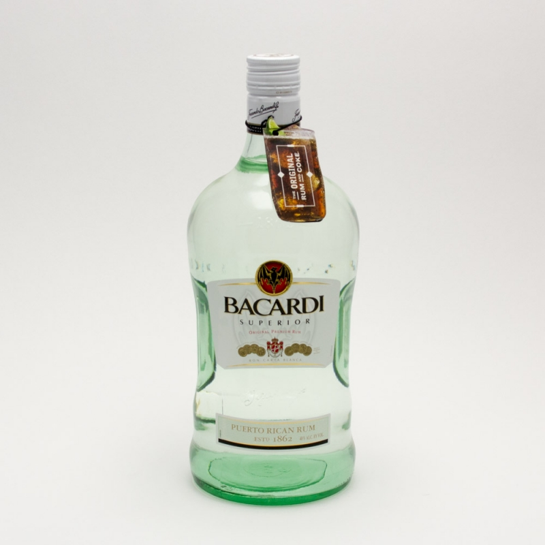 Bacardi - Superior Original Rum - 1.75L