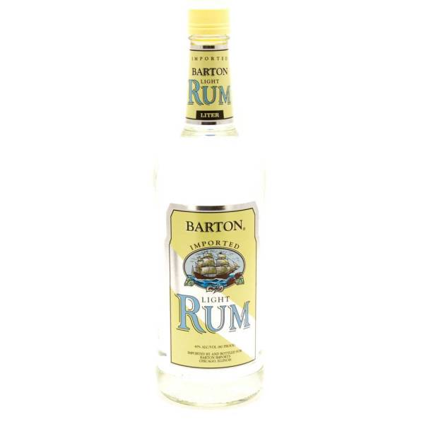 Barton - Light Rum - 750ml