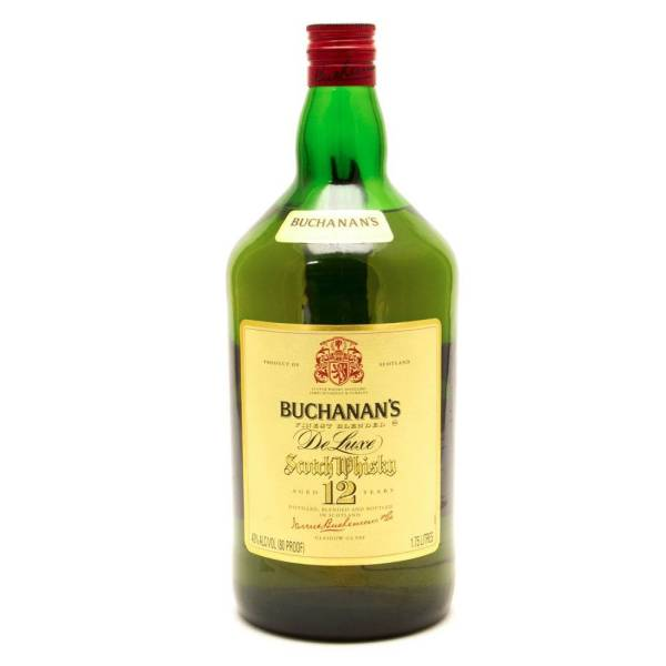 Buchanan's - Aged 12 Years Blended Scotch Whisky - 1.75L