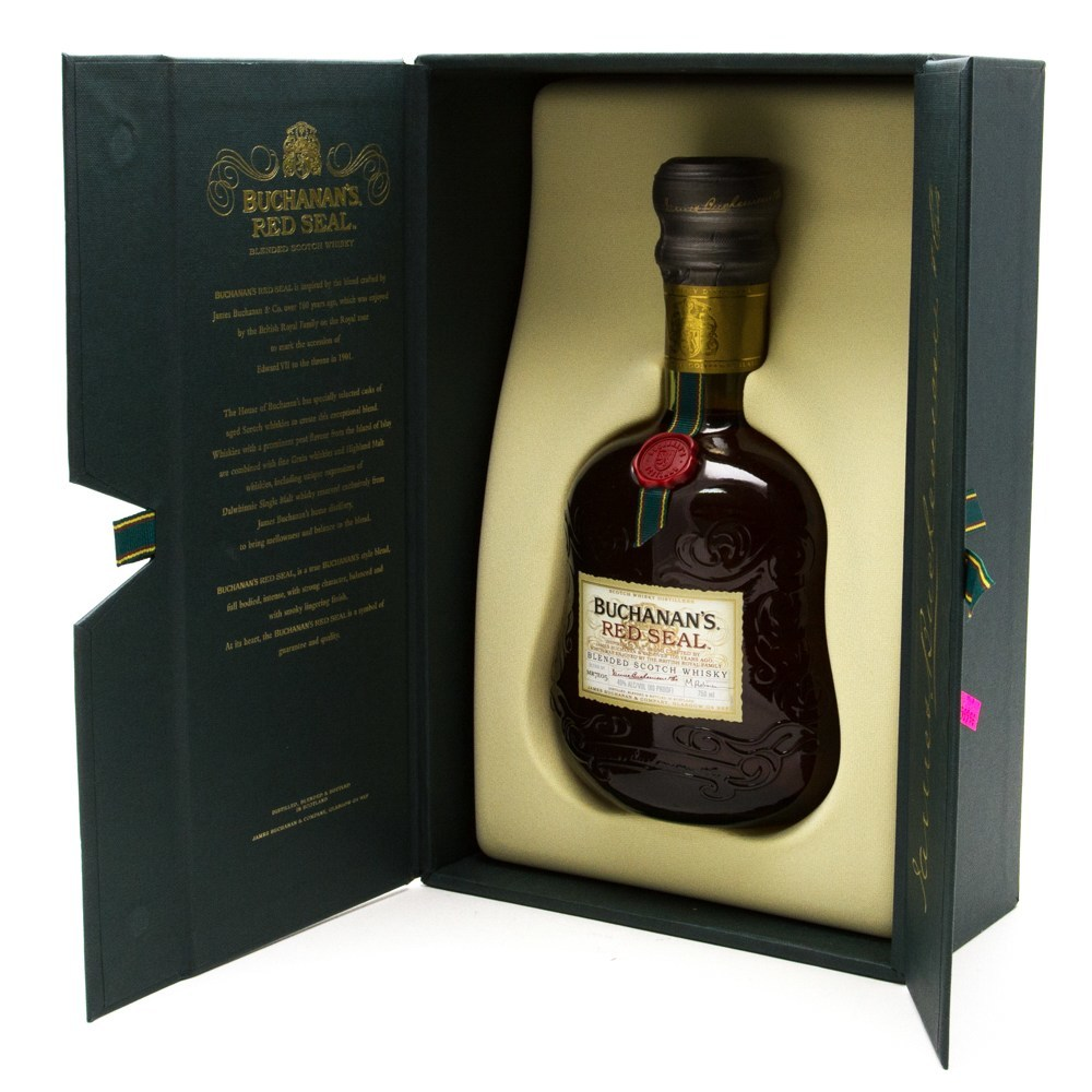 Buchanan's - Red Seal Blended Scotch Whisky - 750ml