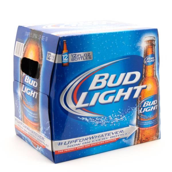 Bud Light - 12oz Bottle - 12 pack