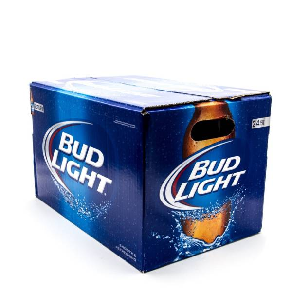 Bud Light - 12oz Bottle - 24 Pack