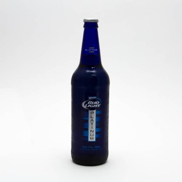 Bud Light - Platinum - 22oz Bottle