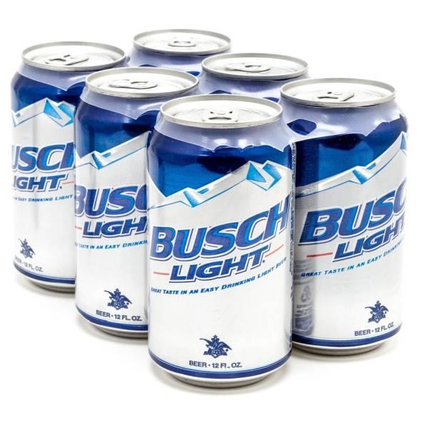 Busch Light - Beer - 12oz Can - 6 Pack