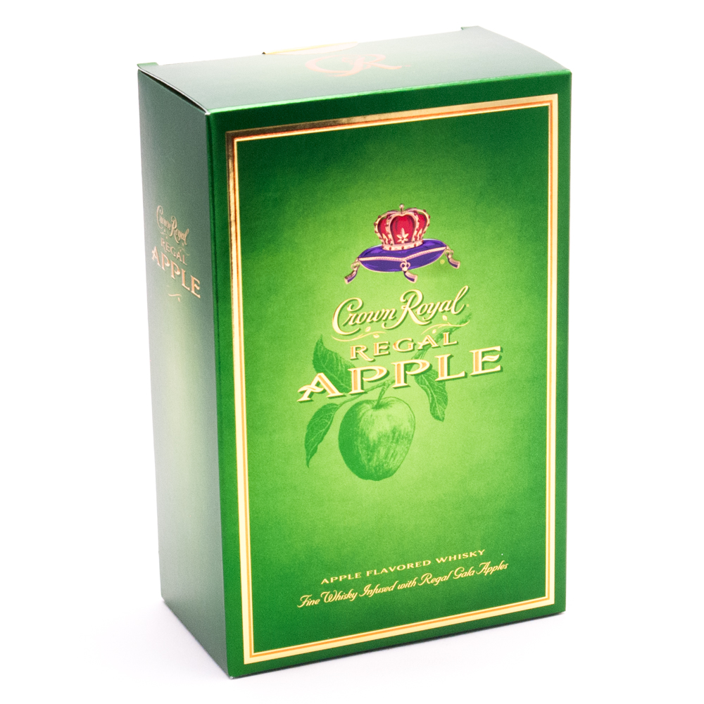 Crown Royal - Regal Apple Whisky 70 Proof - 750ml