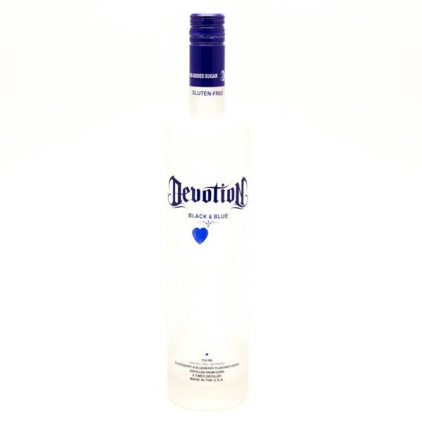 Devotion - Black & Blue Vodka - 750ml