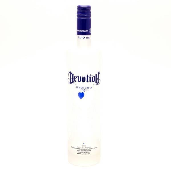 Devotion - Black & Blue Vodka - 750ml