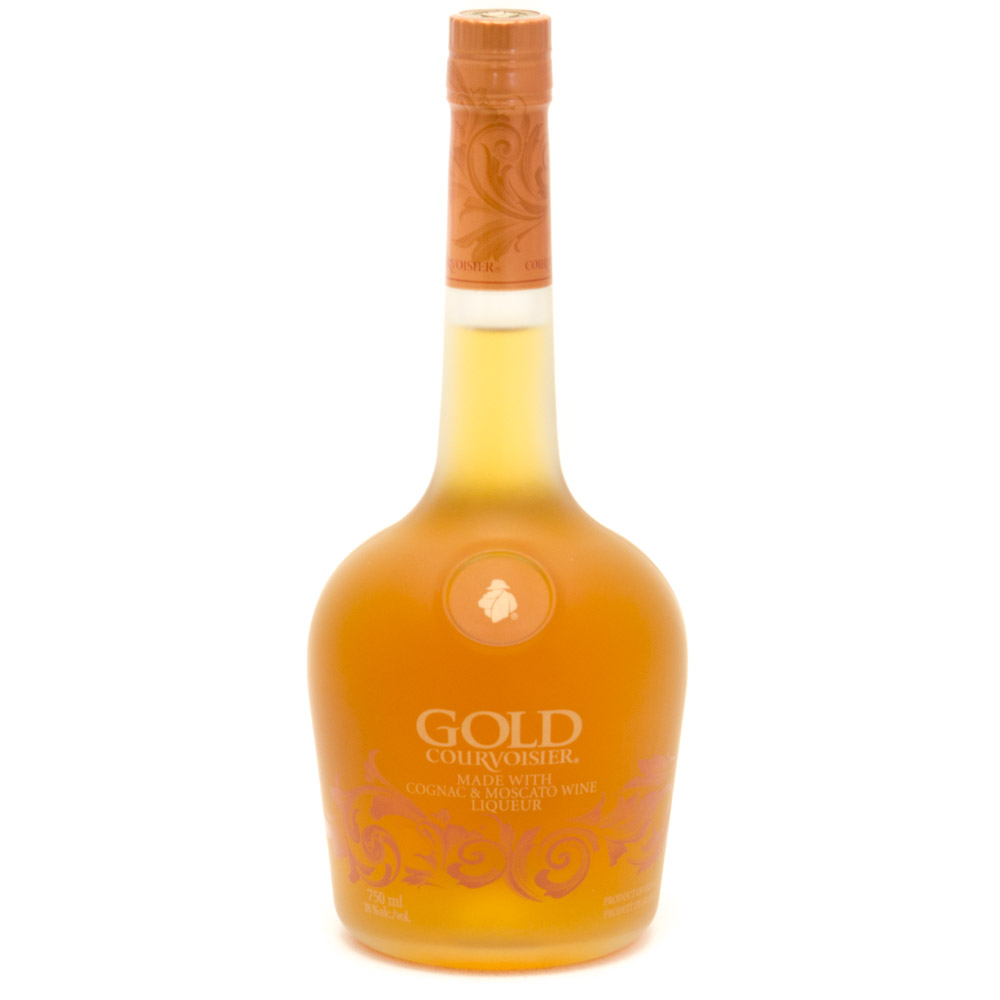 Gold Courvoisier - Made with Cognac & Moscato Wine Liqueur 1 - 750ml