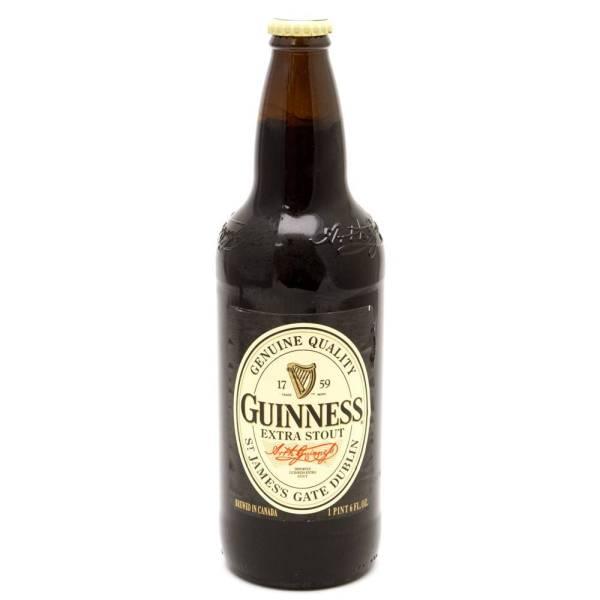 Guinness - Extra Stout - 22oz Bottle