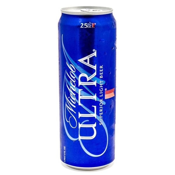 Michelob Ultra - Light Beer - 25oz Can