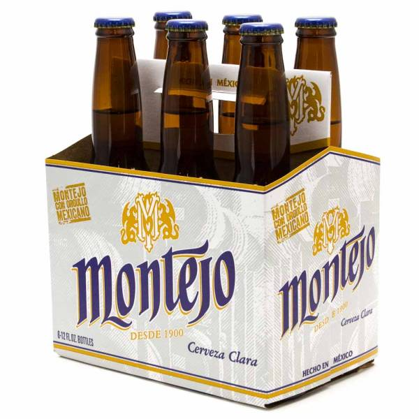 Montejo - Cerveza Clara Imported Beer - 12oz Bottle - 6 pack