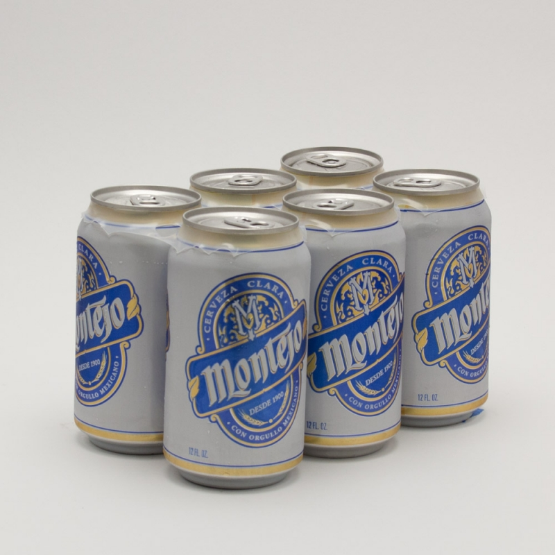 Montejo - Cerveza Clara Imported Beer - 12oz Can 6 Pack