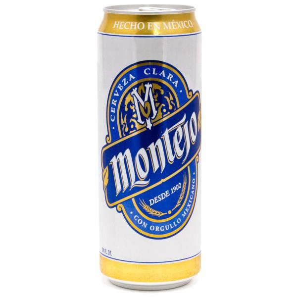 Montejo - Cerveza Clara Imported Beer - 24oz Can