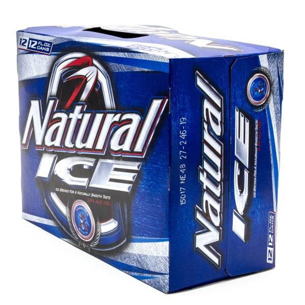 Natural Ice - Beer - 12 Pack - 12oz Cans