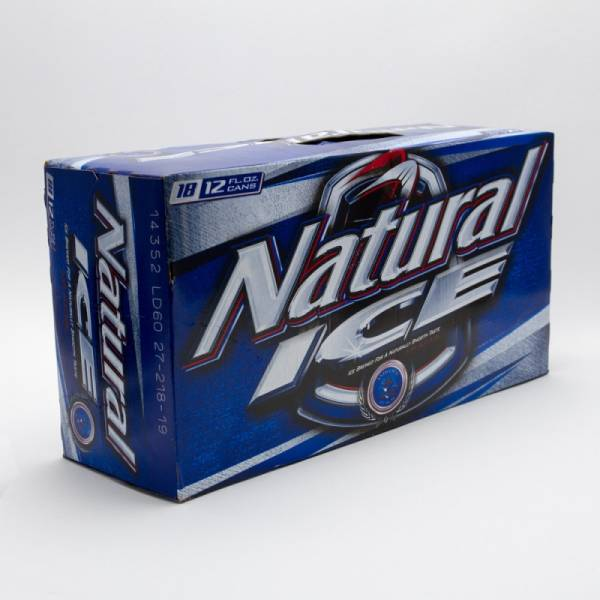 Natural Ice - Beer - 12oz Can - 18 Pack
