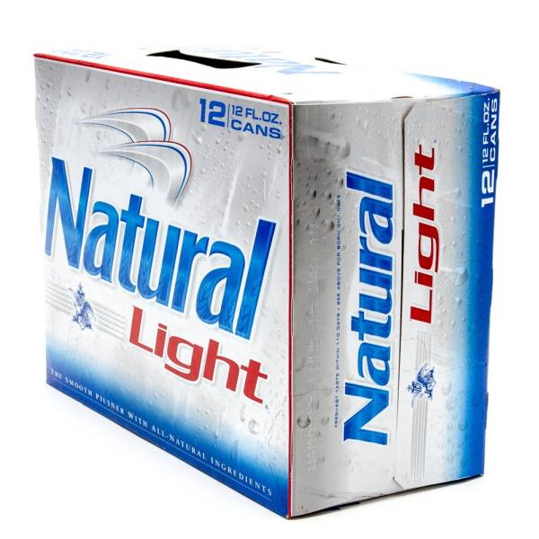 Natural Light - Beer - 12oz Can - 12 Pack