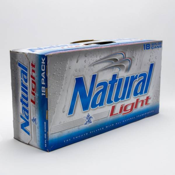 Natural Light - Beer - 12oz Can - 18 Pack